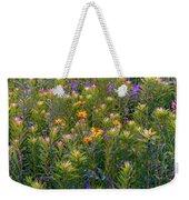 Rainbow Garden Weekender Tote Bag