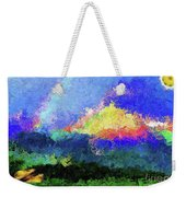 Rainbow Mountain - Breaking The Gridlock Of Hate Number 5 Weekender Tote Bag
