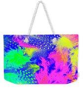 Rainbow Radiance Weekender Tote Bag