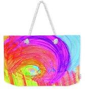 Rainbow Shell Weekender Tote Bag