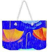 Rainy Day Parade Weekender Tote Bag