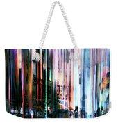 Rainy Street Weekender Tote Bag