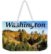 Randle Washington In Fall 02 Weekender Tote Bag
