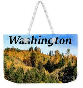 Randle Washington In Fall 02 Weekender Tote Bag