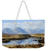 Rannoch Moor In Winter Weekender Tote Bag