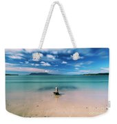 Raspins Beach In Orford On The East Coast Of Tasmania. Weekender Tote Bag