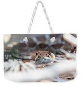 Rattle Snake Weekender Tote Bag