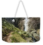 Raysko Praskalo Waterfall, Balkan Mountain Weekender Tote Bag