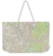 Reading Pennsylvania Us City Street Map Weekender Tote Bag