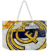 Real Madrid Club De Futbol - 01 By Andrea Mazzocchetti Weekender Tote Bag