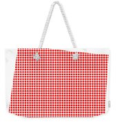Red Dot Map Of Colorado Weekender Tote Bag