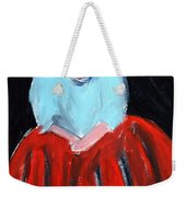 Red Dress Weekender Tote Bag