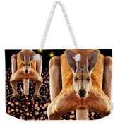 Red Kangaroos Weekender Tote Bag