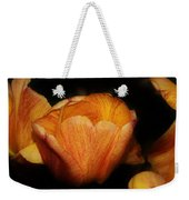 Red Orange Yellow Tulip Weekender Tote Bag