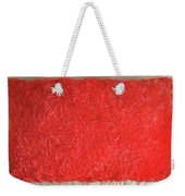 Red Pillow, Decorative. Ameynra Home Decor Weekender Tote Bag