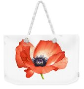 Red Poppy Flower, Image For Prints On Tshirt Weekender Tote Bag