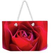 Red Rose 3 Weekender Tote Bag