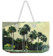 Red Shrt, Homosassa, Florida Weekender Tote Bag