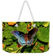 Red-spotted Purple Butterfly 017 Weekender Tote Bag