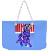 Red, White And Blue Waiting For You Weekender Tote Bag