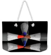 Reflecting Colour Pencils Weekender Tote Bag by Garvin Hunter