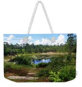 Reflection On The Lake Weekender Tote Bag