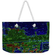 Reflections Of A Green Land 2 Weekender Tote Bag