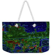 Reflections Of A Green Land Weekender Tote Bag