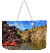 Reflections On The Colorado River Weekender Tote Bag