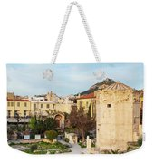 Remains Of The Roman Agora And Tower Of The Winds In Athens Weekender Tote Bag