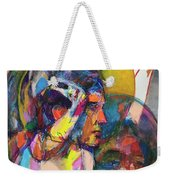 Remember Easter Island Weekender Tote Bag