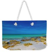 Remote Beach Paradise Turks And Caicos Weekender Tote Bag