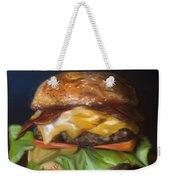 Renaissance Burger  Weekender Tote Bag