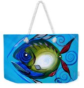 Return Fish Weekender Tote Bag