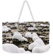 Rhine Winter Weekender Tote Bag