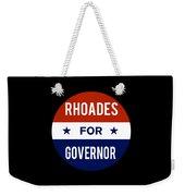 Rhoades For Governor 2018 Weekender Tote Bag
