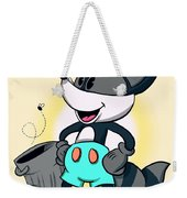 Ricky Raccoon  Weekender Tote Bag
