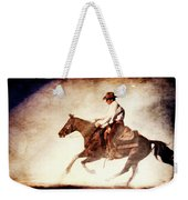 Riding The Light Weekender Tote Bag