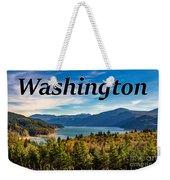 Riffe Lake, Washington Weekender Tote Bag