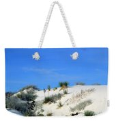Rippled Sand Dunes In White Sands National Monument, New Mexico - Newm500 00106 Weekender Tote Bag