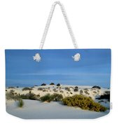 Rippled Sand Dunes In White Sands National Monument, New Mexico - Newm500 00114 Weekender Tote Bag