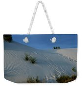 Rippled Sand Dunes In White Sands National Monument, New Mexico - Newm500 00118 Weekender Tote Bag