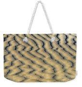 Ripples In The Sand Weekender Tote Bag