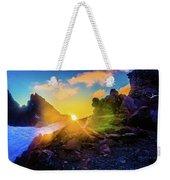 Rising Sun Weekender Tote Bag