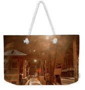 River Bridge Weekender Tote Bag