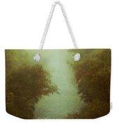 River In Fog Weekender Tote Bag