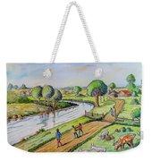 River Road Weekender Tote Bag