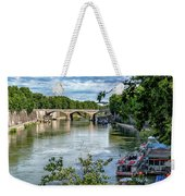 Riverboats Weekender Tote Bag