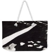Road Not Taken Weekender Tote Bag