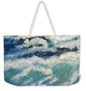 Roaring Ocean Weekender Tote Bag